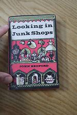1960S  LOOKING IN JUNK SHOPS  1961  !!      FUN GIFT    vintage book