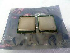 PAIR OF  INTEL XEON QBV5 ES 2.00GHZ SERVER CPU Processor