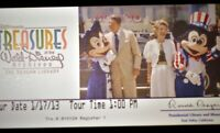 Walt Disney Archives Exhibition Ronald Reagan Presidential Library 2013 Ticket