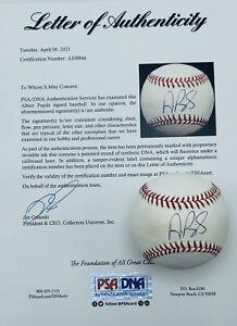 Albert Pujols Signed / Autographed OML Baseball. PSA Full Letter Of Authenticity