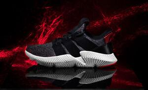 NIB Men's adidas Prophere Black CQ3022. Knit Running Shoes Size