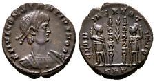 CONSTANTIUS II (330-348 AD) Very Rare Follis. Trier #TC 7937