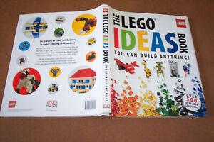 "(NEW) DORLING KINDERSLEY: ""THE LEGO IDEAS BOOK"" (2011)"