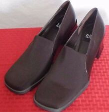 Glacee Brown Leather Loafer with Heels Size 10M