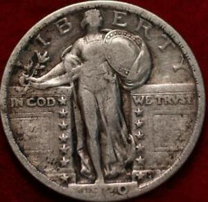 1920 Philadelphia Mint Silver Standing Liberty Quarter