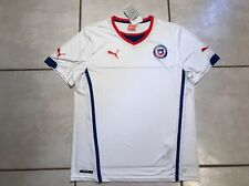 NWT PUMA Chile National Team 2014/2015 Away Soccer Jersey Men's XL