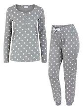 Mamalicious Breastfeeding Nursing Pyjamas  £38 RRP Grey Polka Dot Hospital Bag
