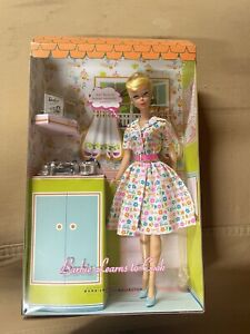 BARBIE Learns to Cook Doll Gold Label 2006 Limited Edition 10700 Worldwide