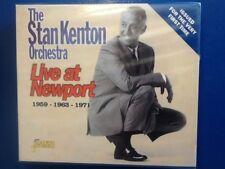 STAN. KENTON. ORCHESTRA.       LIVE  IN. NEWPORT.      THREE DISC BOXSET