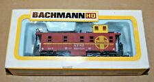Bachman HO Scale Model Railroad Caboose Sante FE RR #0987 Train Car NOS NIB