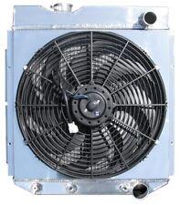 """Dodge Radiator w/ Custom Fan Shroud & 16"""" Fan,3.2L & 3.7L Only! V8 Conversion OK"""