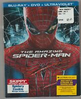 The Amazing Spider-Man (Blue-ray disc, DVD, Ultraviolet, 2012)