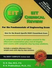 EIT Chemical Review: a complete review and sample problems and sample exam for t