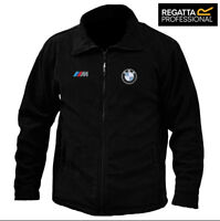 BMW M-POWER FULL ZIP FLEECE JACKET REGATTA QUALITY WITH EMBROIDERED LOGO