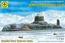 MODELIST 170076 RUSSIAN SUBMARINE TYPHOON CLASS SCALE MODEL KIT 1/700 NEW