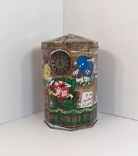 M & M's Limited Edition Christmas Village Series Clock Tower Number 10 Tin 2000