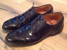 """Allen Edmonds """"Hancock"""" Black Norwegian Toe Blucher, Men's 9 D, Made in America"""