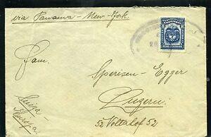 CALI/ B/TURA,-  COLOMBIA cover CIA FRIGORIFICA COL. > to SWITZERLAND 21 DIC 1931