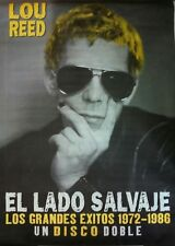 LOU REED EL LADO SALVAJE SPANISH BIG PROMO POSTER 100cm X 140cm MUY RARO