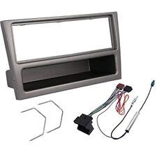 Kit montaggio mascherina adattatore autoradio stereo per OPEL Antracite 1 DIn
