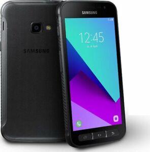 "Samsung Galaxy XCover 4 BLACK 16GB G390F UNLOCKED 5"" GPS ANDROID HD Smartphone"