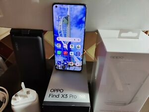 OPPO Find X3 Pro 5G 256GB Smartphone Black Unlocked FREE OPPO WIRELESS CHARGER!