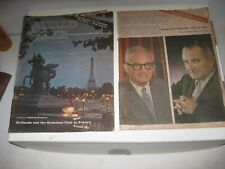 1964 Goldwater vs Johnson Presedential Pre-Election Interviews Scholastic Mags.