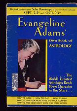 Evangeline Adams Own Book of Astrology 1931 September 24-October 23