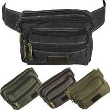 Unbranded Canvas Bum Bags/Waist Packs for Men