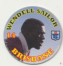 1994 Coca Cola Queensland Rugby League Wendell Sailor # 11 Brisbane Pog