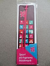 Bookmark LONDON 2012 Olympics Sport Pictograms Bookmark Official Merchandise