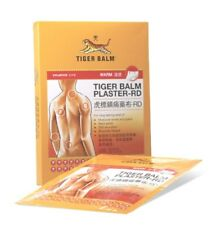 TIGER BALM Plaster Warm Medicated Pain Relief Warm Patch 7X10cm Pack of 2 Pcs