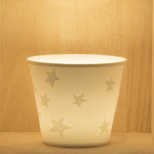 Tea Light/Tealight Holder ~ Nordic Lights ~ STAR (21) ~ Ceramic/Porcelain
