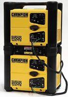 (2) 73536i Champion Power Equipment 2000w Inverter Generator set NEW
