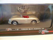PORSCHE 356 CABRIOLET GRISE de 1948 ~  NEUF