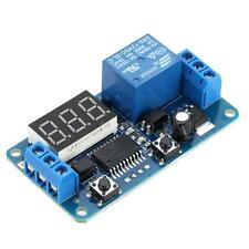 Digital LED External Trigger Delay Timer Control Switch Relay Module DC 12V F6P4