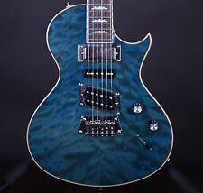 2014 Epiphone Nighthawk Custom Reissue Blue Electric Guitar w/Case #6255