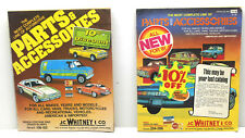 2 J.C. Whitney & Co. Auto Automotive Parts Accessories Product Catalog #377 #406