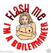 BOILERMAKER FLASH ME HELMET STICKER HARD HAT STICKER TOOLBOX STICKER