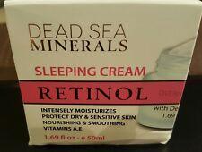 Nib Dead Sea Minerals Overnight Sleeping Cream Retinol 1.69 Oz./50mL