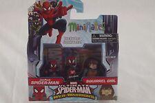 Marvel Minimates - Walgreens Exclusive: Jet Pack Spider-Man & Squirrel Girl Set