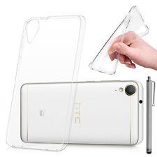 "Housse Etui Coque TRANSPARENT Gel UltraSlim pour HTC Desire 10 Lifestyle 5.5"""