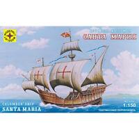 Santa Maria Flagship Of Christopher Columbus Model Ship Kits scale 1:150