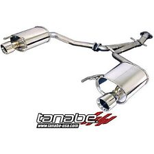 Tanabe T70113A Medalion Touring Exhaust System 06-11 Lexus IS250 2WD / AWD