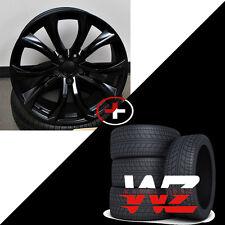 """20"""" Rims BMW Style fits X5 X6 X5M X6M Satin Black Wheels w Tires 5X120"""