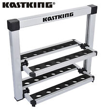 KastKing Foldable Fishing Rod Rack - 12 Rod Rack for Freshwater Rods