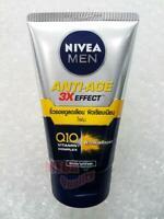 Nivea For Men Anti-Aging 10in1 3D Wrinkle Repair Q10 Facial Cleanser Foam 100 g