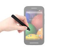 Black Stylus Pen for Motorola Moto E w/ Aluminium Hold Grip