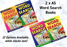 2 x A5 Word Seach Books (2 Options Available)