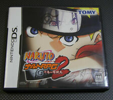 Nintendo DS Japanese Naruto RPG 2 Chidori VS Rasengan Japan Import
